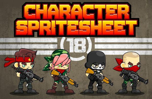 The Mercenaries - Game Sprites
