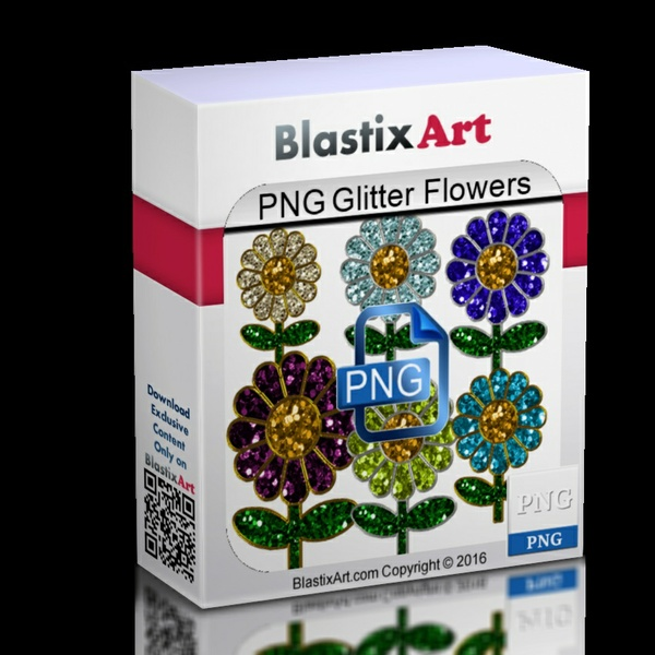 Png Glitter Flowers