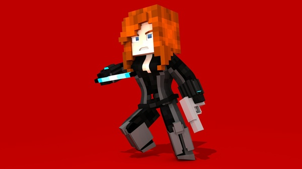 MC Civil War Black Widow (#FD)