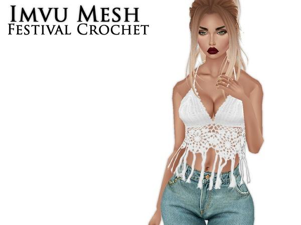IMVU Mesh - Tops - Festival Crochet
