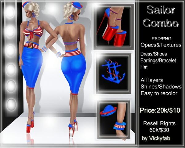 Sailor Combo