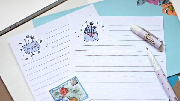 Mail Doodles - Letter Set