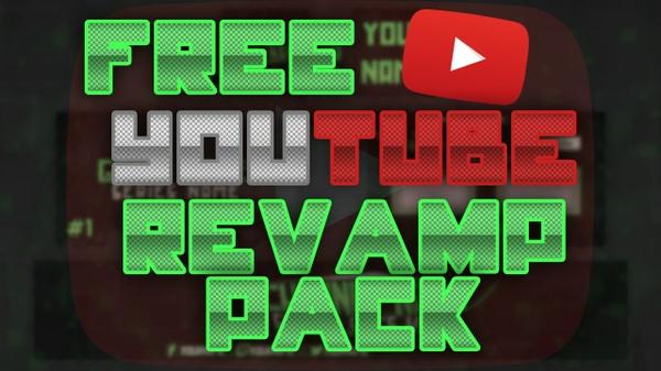 FREE youtube art revamp (banner, avatar, outro, thumbnail) all channel art