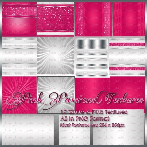 Pink Passions Pack -- $2.00