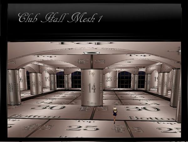 IMVU Club Hall Room Mesh 1