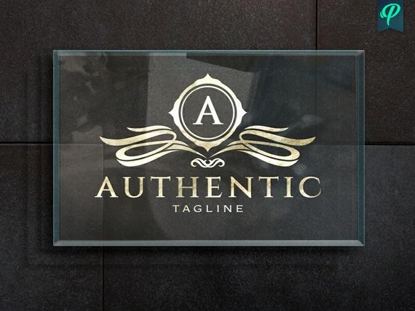 Authentic - Vintage Logo Template