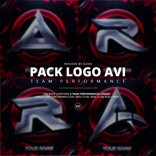 Pack Logo AVI V2 Template