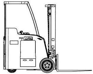 Yale Electric Forklift Truck (A883) Type ESC030FA, ESC035FA, ESC040FA  Parts Manual