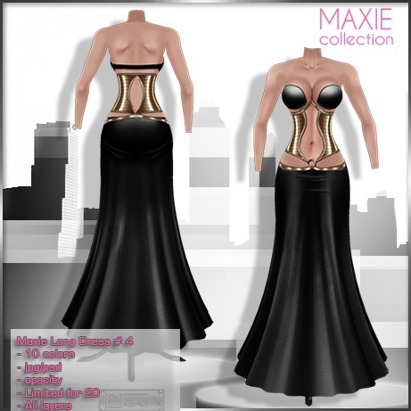 2014 Maxie Long Dress # 4