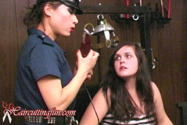 Escape - Prison Headshaving Movie - aka Helen's Head Shave - VOD Digital Video on Demand