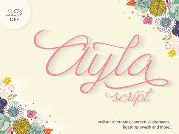 Ayla Script 25% Off