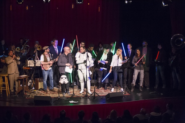 Acker & Blacker's Star Wars-themed Variety Show- full audio