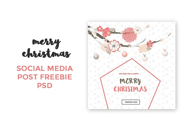 Free Christmas Social Media Post
