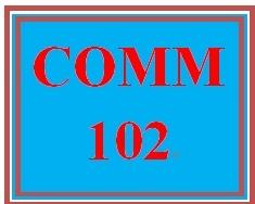 COMM 102 Week 4 Social Media Policy