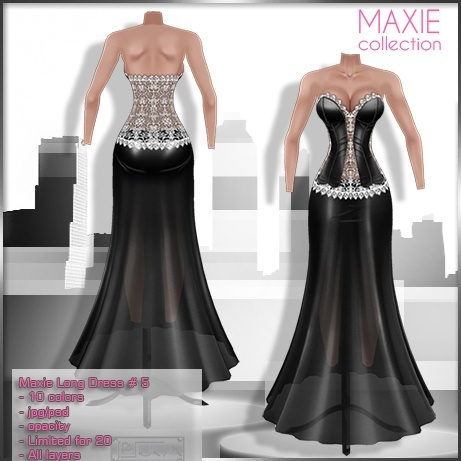 2014 Maxie Long Dress # 5