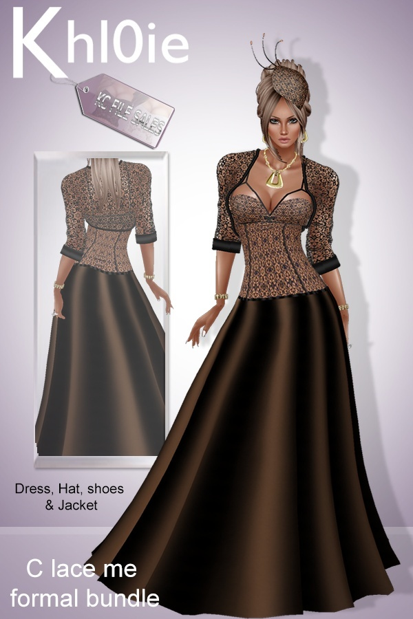 C lace me bundle ( dress, hat, Heels & Jacket)