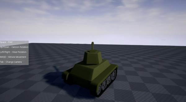 Simple Tank | UE4