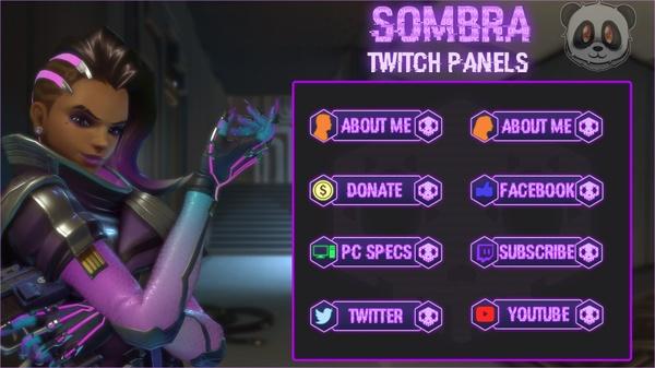 Sombra - Twitch Panels