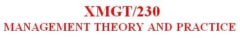 XMGT 230 Week 2 Individual - Internal and External Factors Paper