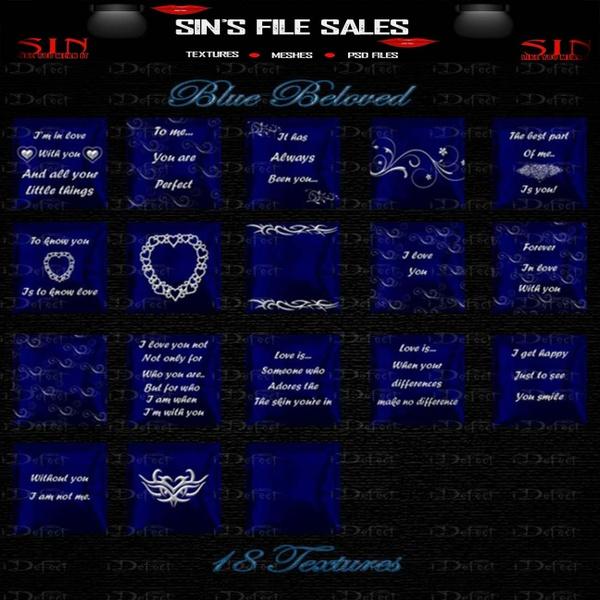 Blue*NE Texture Pack