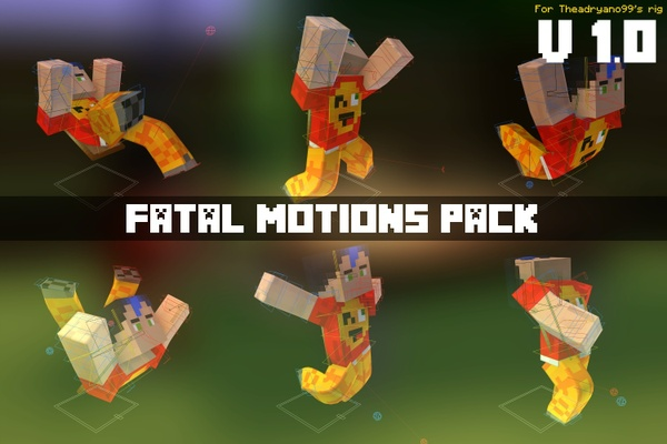 [1.0] Fatal Motions Pack - by TheAdryano99