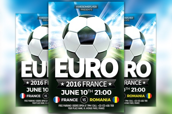Euro Soccer Flyer Template