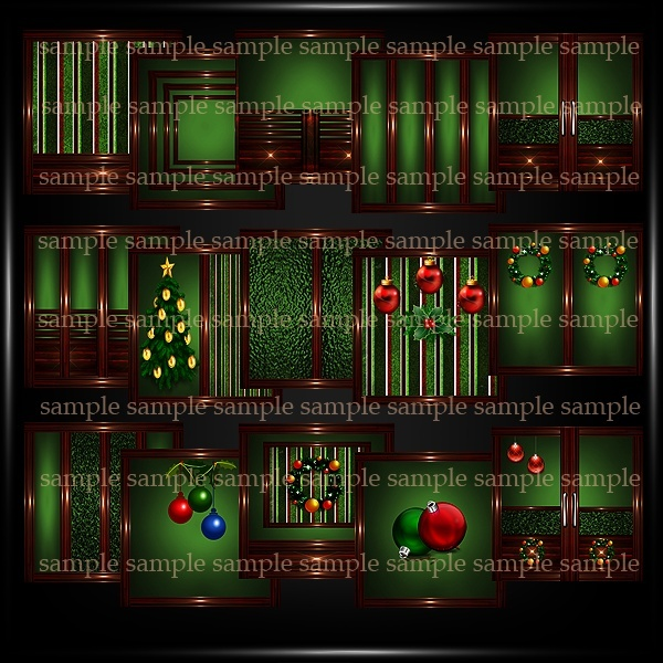 Christmas Textures Pack 8