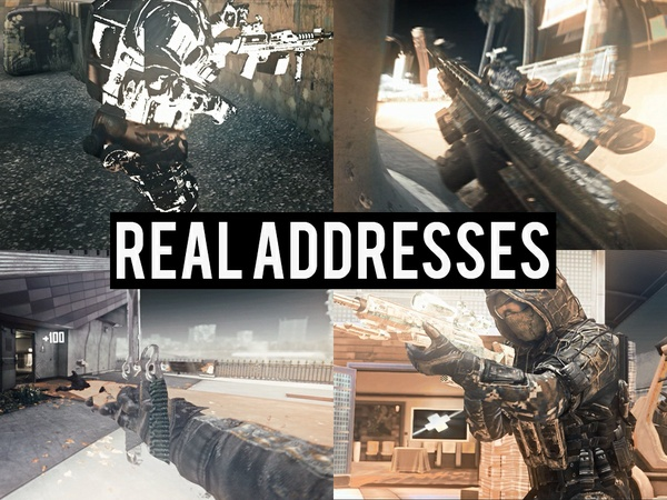 Real Addresses PROJECT FILE