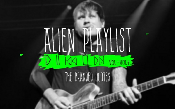 Alien Playlist (Font)