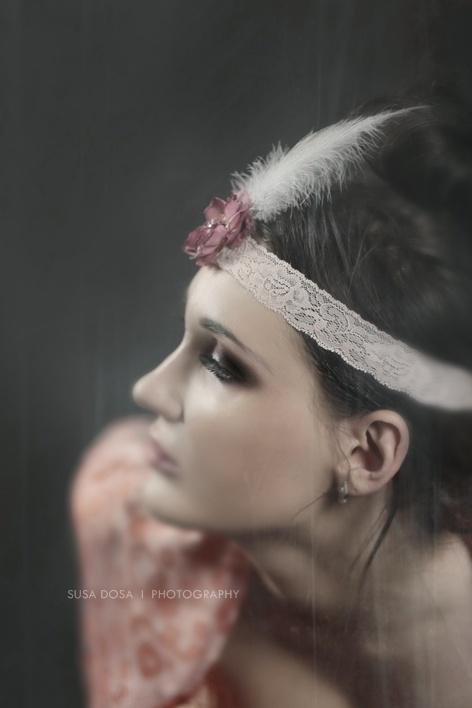 - Vintage style portrait -