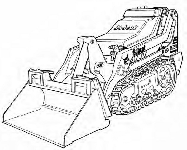 Bobcat MT52 / MT55 Mini Track Loader Service Repair Manual Download 2