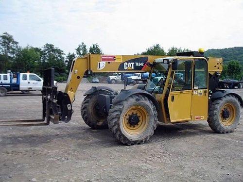 Caterpillar Cat TL642 TL943 Telehandler Service Manual Download