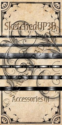 Accessories 01 - Belt Texture Bundle