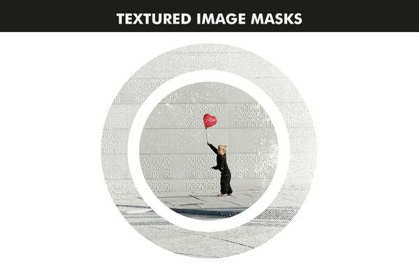 Textured Image Masks