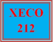 XECO 212 Week 9 A New House – Decision