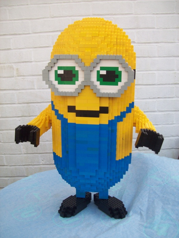 Instructions for Large Scale Lego Minion