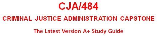 CJA 484 Week 2 Ethics in Criminal Justice Administration Analysis