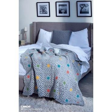 Dot to Dot Crochet Bed Cover