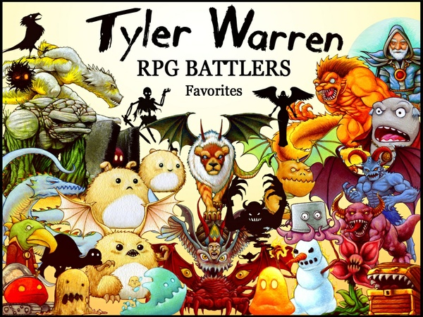 FREE - Tyler Warren RPG Battlers - Favorites Pack (30)