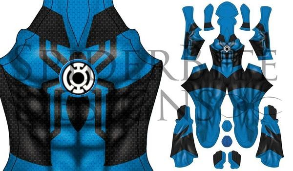 Blue Lantern Spidey