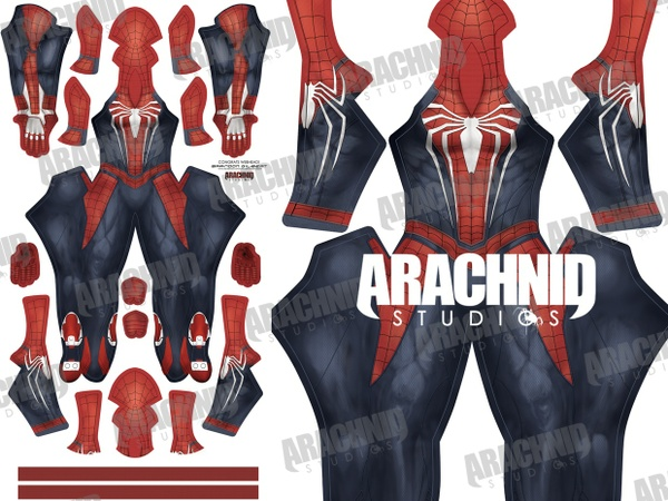 PS4 Spider-Man Dye-sub Pattern
