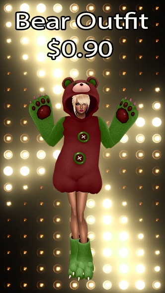 Bear Outfit v21 Texture