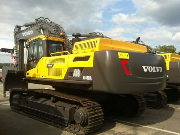 VOLVO EC480D L EC480DL EXCAVATOR SERVICE REPAIR MANUAL - DOWNLOAD