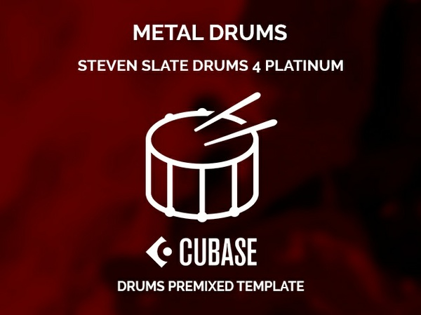 SSD4 DRUMS MIXING TEMPLATE FOR CUBASE