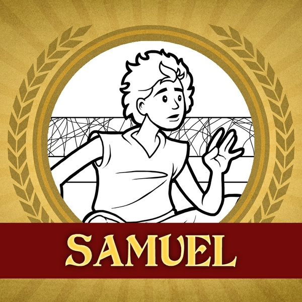 The Heroes of the Bible Coloring Pages: Samuel