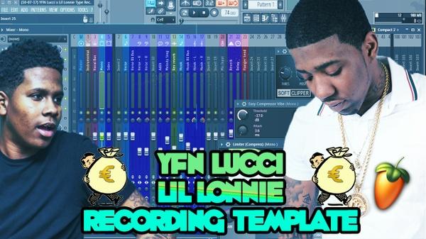 YFN Lucci x Lil Lonnie Recording Template