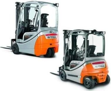 Still Forklift RX20-15,-16,-18,-20: 6210, 6211, 6212, 6213, 6214, 6215, 6216, 6217 Parts Manual