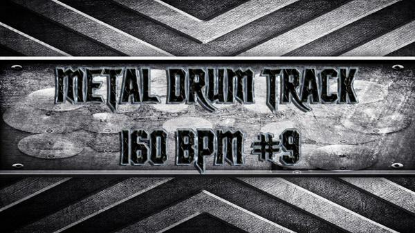 Metal Drum Track 160 BPM #9