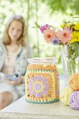 Boho Lantern Candle Jar