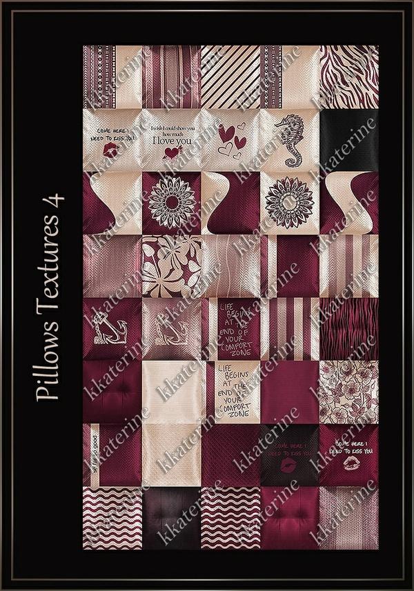 Pillows Textures 4 ~ 40 Textures